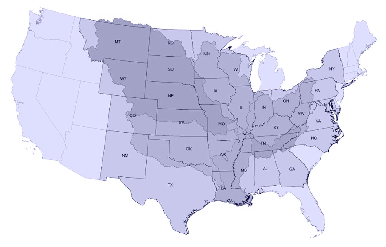 MRBP Map